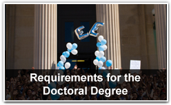Requirements for the Doctoral Degree
